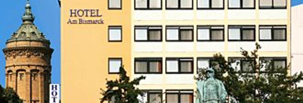 Hotel Am Bismarck - 만하임 - 건물