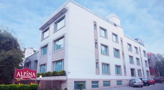 알피나 호텔 & 스위트 - 뉴델리 - 건물