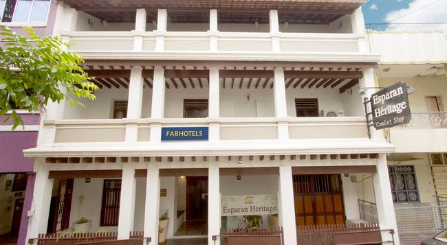 패브호텔 에스파란 헤리티지 - 퐁디셰리 - 건물
