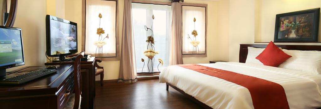 Charming 2 Hotel - 하노이 - 침실