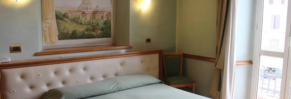 호텔 레지나 마르게리타 - 로마 - 침실