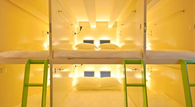 박스 캡슐 호스텔 - 싱가포르 - 침실
