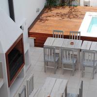 어바니안 Nuestro patio y piscina