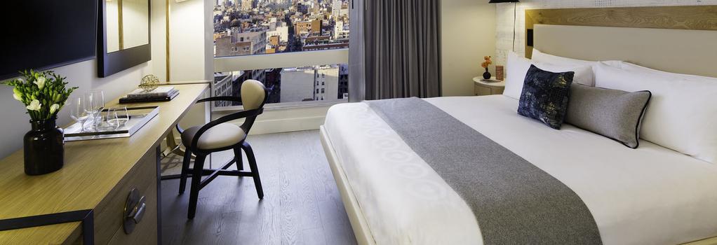 호텔 50 바우어리 NYC - 뉴욕 - 침실