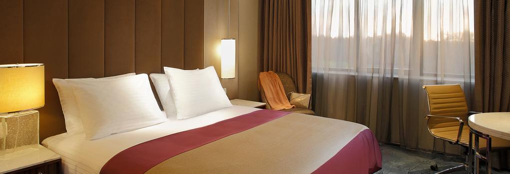 탕라 호텔 브뤼셀 - 브뤼셀 - 침실