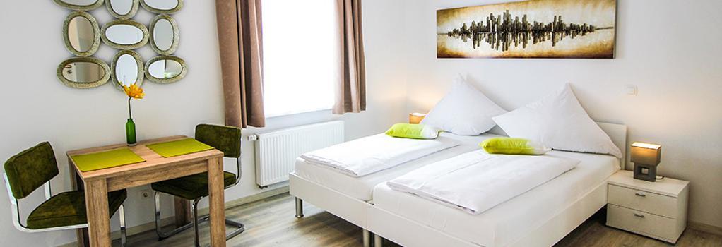 아파트호텔 가르텐슈타트 - 밤베르크 - 침실