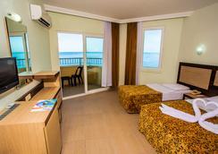 Kleopatra Beach Hotel - 알라냐 - 침실
