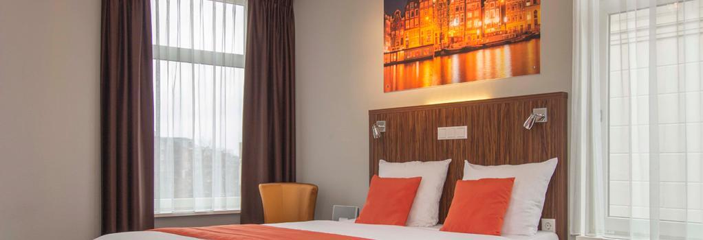 린든 호텔 - 암스테르담 - 침실