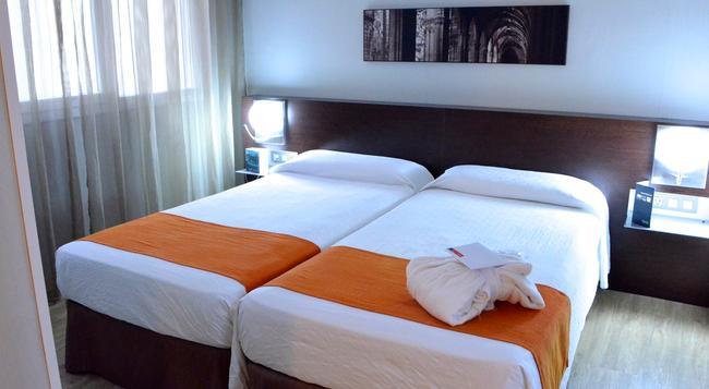 호텔 레코르드 - 바르셀로나 - 침실