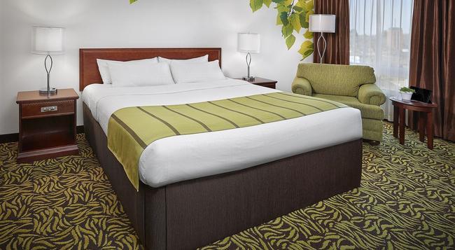 바스코나 호텔 온 화이트 - 에드먼턴 - 침실