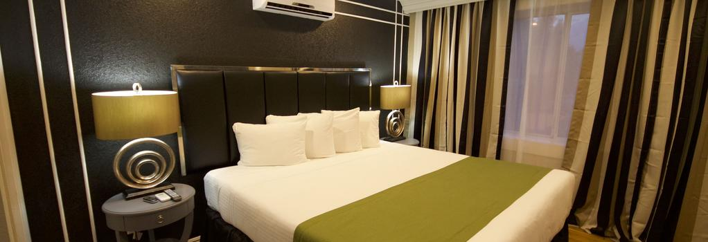 Hyde Park Hotel - 탬파 - 침실