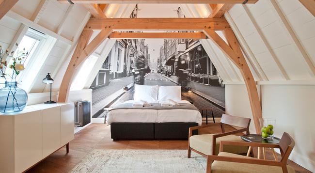 Hotel IX - 암스테르담 - 침실