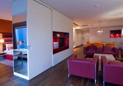 래디슨 블루 호텔 프랑크푸르트 - 프랑크푸르트 - 침실