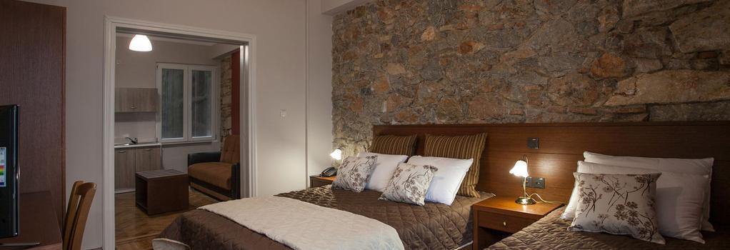 암브로시아 호텔 & 스위트룸 - 아테네 - 침실
