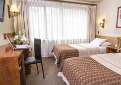 Hotel Don Luis Puerto Montt - 푸에르토몬트 - 침실