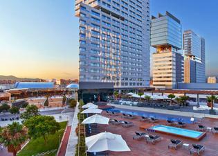 힐튼 다이아고날 마르 바르셀로나 호텔