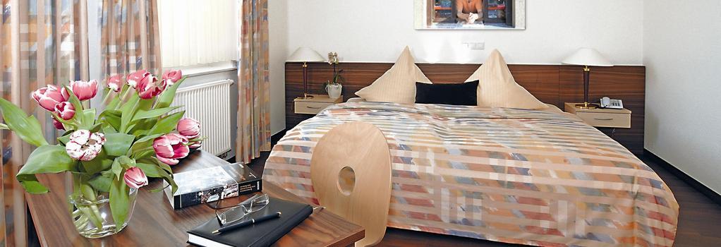 Hotel Neuhaus Integrationshotel - 도르트문트 - 침실
