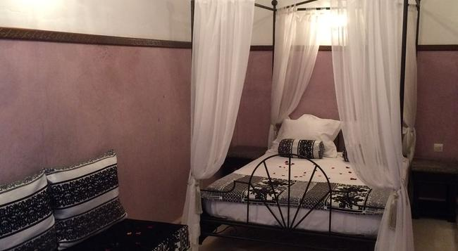 Riad Dar Palmyra - 마라케시 - 침실