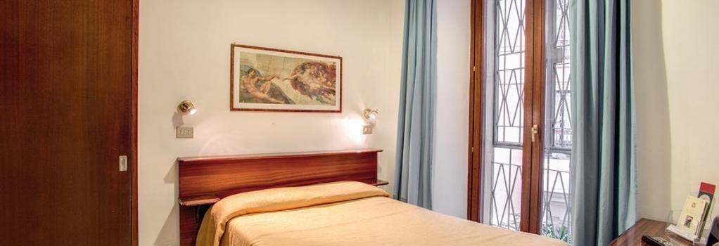 호텔 프리마베라 - 로마 - 침실