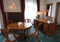 다누비우스 호텔 겔러트 - 부다페스트 - 침실