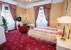 다누비우스 호텔 아스토리아 시티 센터 - 부다페스트 - 침실