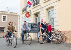 Hotel Les Alizes - 디나르 - 로비
