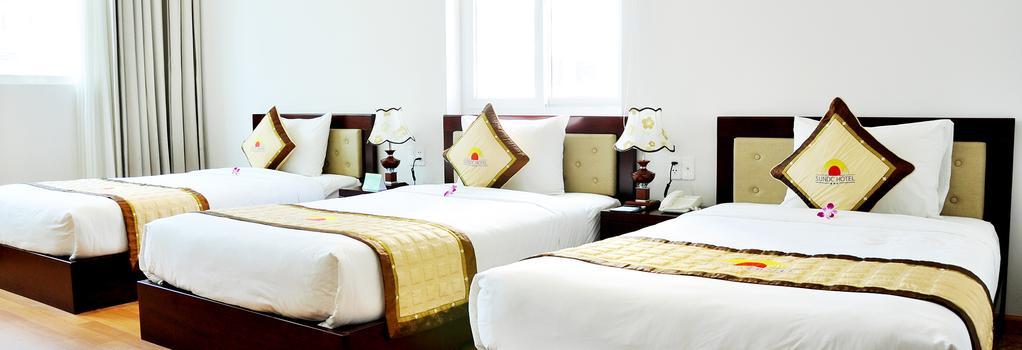 씨 캐슬 2 호텔 - 다낭 - 침실