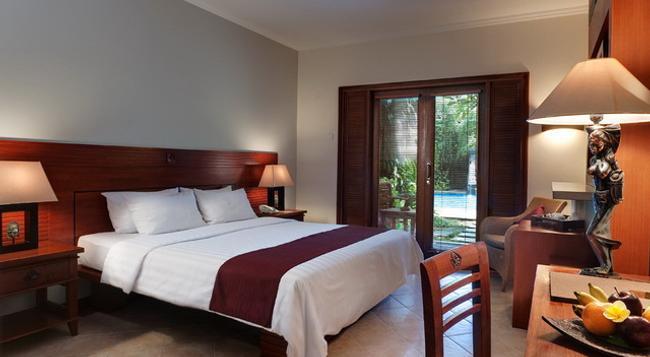 더 비라 발리 호텔 - 쿠타 - 침실