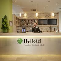 H+ 호텔 뮌헨 시티 센터 B&B Reception