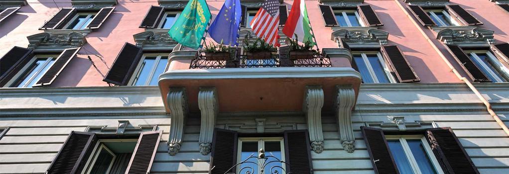 호텔 메체나테 팰리스 - 로마 - 건물