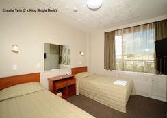 키위 인터내셔널 호텔 - 오클랜드 - 침실