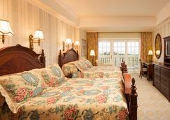 홍콩 디즈니랜드 호텔 - 홍콩 - 침실