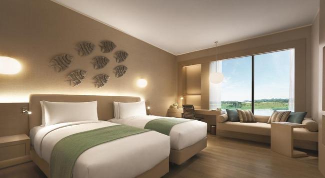 호텔 젠 푸테리 하버 - Gelang Patah - 침실