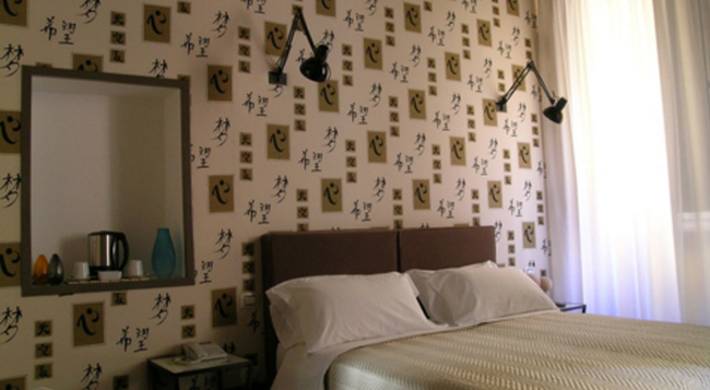 Relais Palazzo Taverna - 로마 - 침실