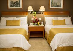 Hotel Olmeca Plaza - 비야에르모사 - 침실