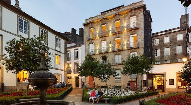 Hotel Montes - 산티아고데콤포스텔라 - 건물