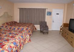 Daytona Shores Inn and Suites - 데이토나비치 - 침실
