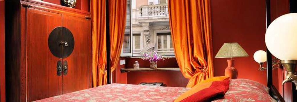 Casa Heberart Guest House Capo Le Case - 로마 - 침실