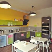 3City Hostel kitchen
