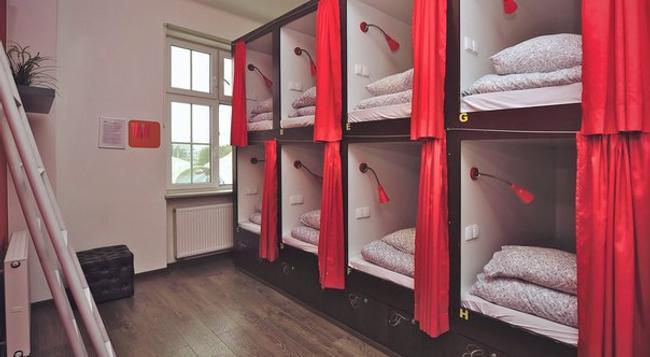 3City Hostel - 그단스크 - 침실