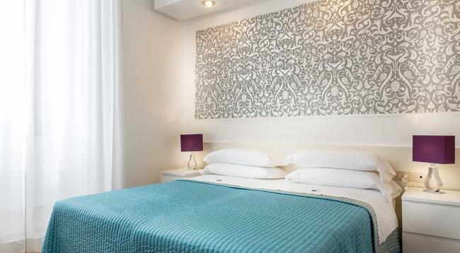 호텔 트라이아노 - 로마 - 침실