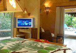 더 라로통안 비치 리조트 앤 스파 - Rarotonga - 침실