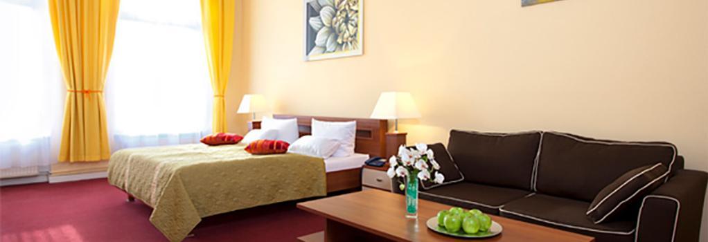 호텔 아벤트슈테른 - 베를린 - 침실