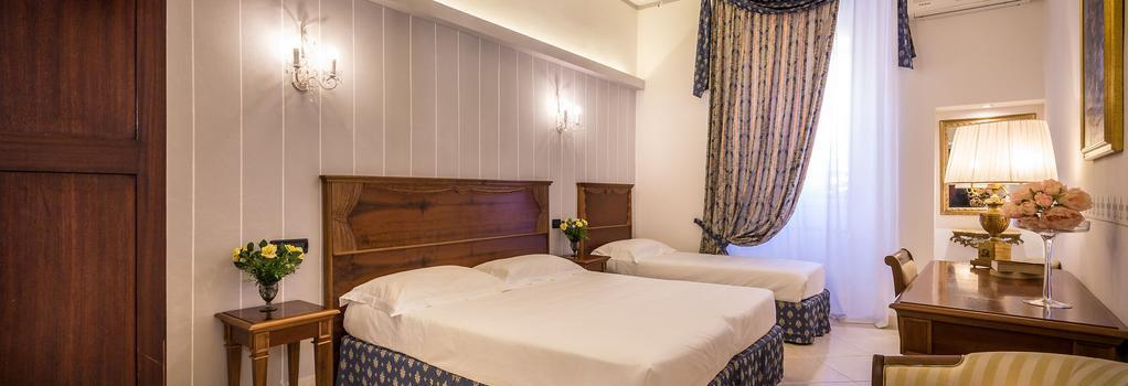 호텔 베네토 - 피렌체 - 침실