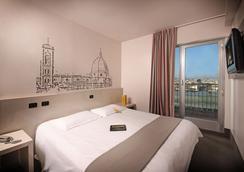 B&B 호텔 피렌체 시티 센터 - 피렌체 - 침실