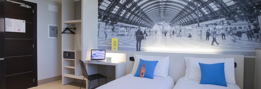 B&B Hotel Trieste - 트리에스테 - 침실