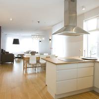 호텔 오딘스베 In-Room Kitchen