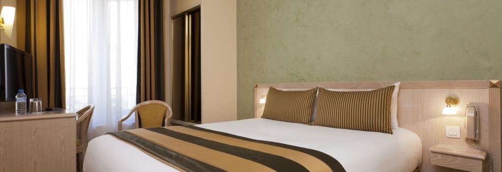 호텔 챔페레트 엘리시스 - 파리 - 침실