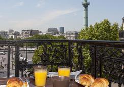 호텔 쁘티 바스티유 - 파리 - 레스토랑