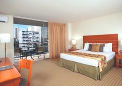Aqua Waikiki Pearl - 호놀룰루 - 침실
